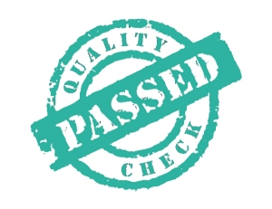 quality passed