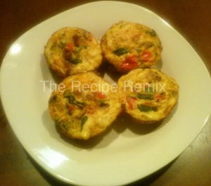 turkey bacon egg white muffins
