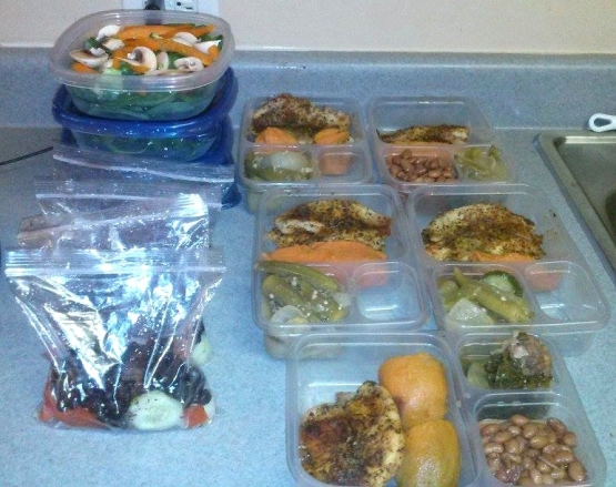 meal prep home