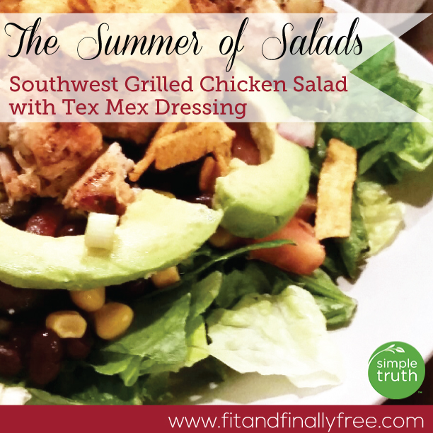 southwest grilled chicken salad pic 2