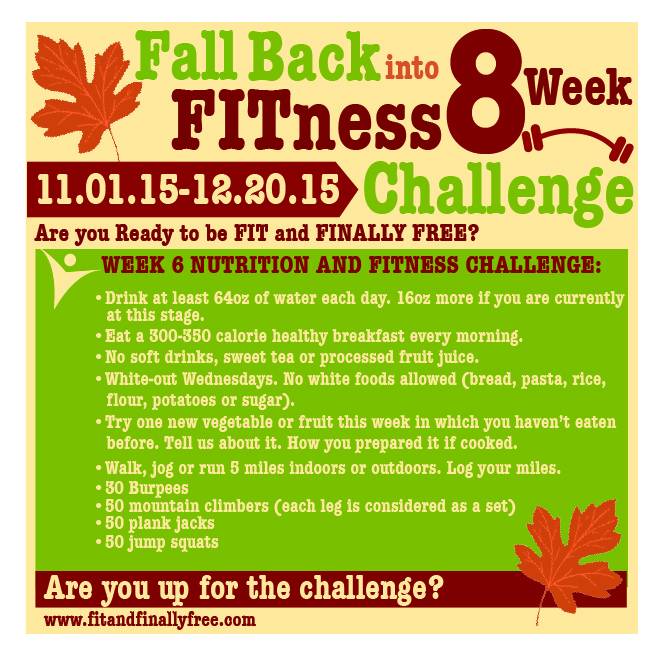 fall back week 6