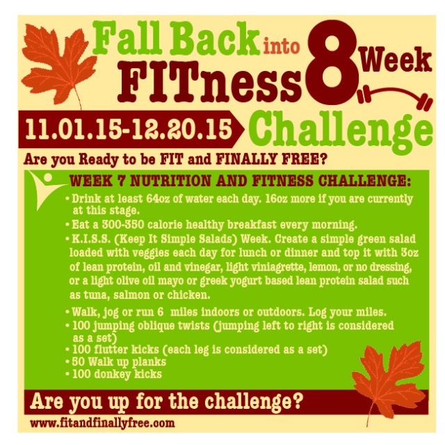 fall back week 7