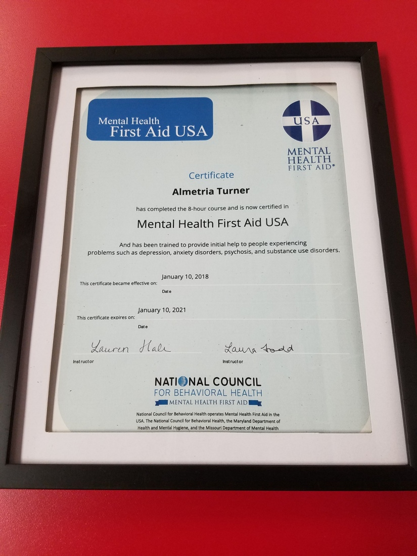 Mental Health First Aid Certification Fit And Finally Free